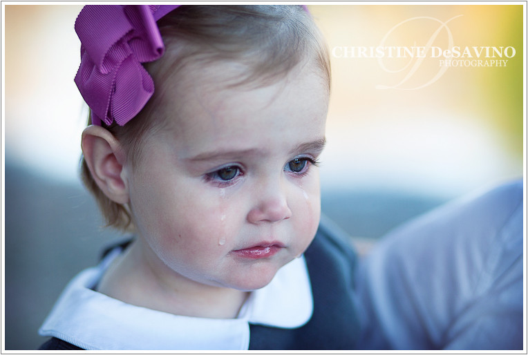 Little girl crying - NJ Child Photographer