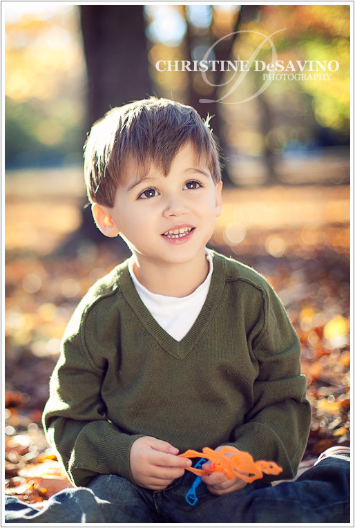 Beautiful boy laughing - NJ Child Photographer