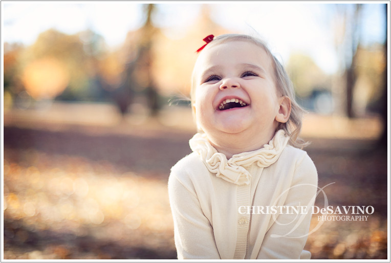 Beautiful girl laughing - NJ Child Photographer