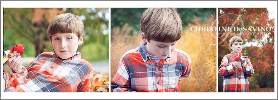 Montage of a beautiful boy who has autism - NJ Child Photographer