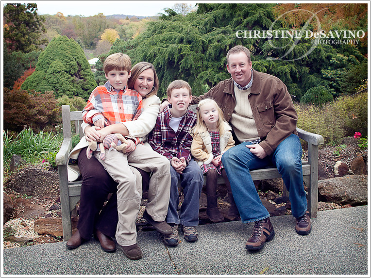Loving family affected by autism - NJ Family Photographer