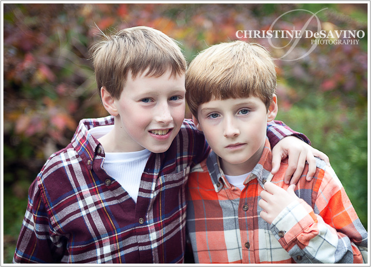 Two brothers - NJ Child Photographer