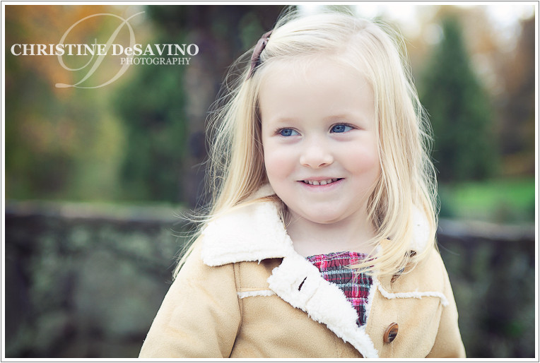 Beautiful blonde girl - NJ Child Photographer