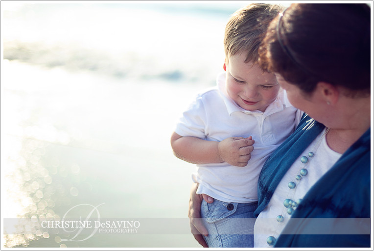 Mother and son - NJ Beach Photographer